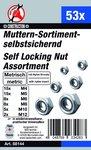53-delige Nut assortiment, Self-Locking