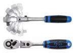 Bgs Technic Flexibele Head Ratchet, verstelbaar, 3/8