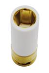Bgs Technic 3-delige beschermende invloed dop Set, 1/2 met Plastic Cover, 17-19-21 mm