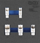 Bgs Technic 5-delige Elbow Connector dop Set