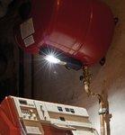 LED Akku handlamp HL DA 61 M3H2 - 6+1