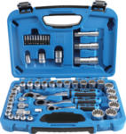Bgs Technic 52-delige Gear Lock Go-Thru dop Set, 4,5-25 mm
