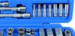 Bgs Technic Dopsleutelset Gear Lock 6,3 mm (1/4) / 10 mm (3/8) / 12,5 mm (1/2) 192-delig