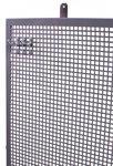 Perfopaneel metaal grijs 200x94cm