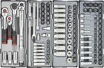 Practical gereedschapwagen 376-delig