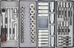 Practical gereedschapwagen 303-delig