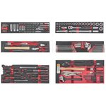 5-Tier Tool box with 152pc tools (EVA)