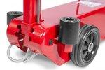 Hydropneumatische rolkrik met capaciteit 50 ton