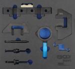 Bgs Technic Gereedschapmodule 2/3: motorafstelset voor BMW M42, M43, M50, M52, M60, M51