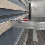 Cargoplank aluminium 2400-2700mm