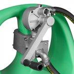 Tank benzine 55 liter manuele pomp + manueel pistool