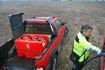 Tank diesel rood pe 220 liter, pomp 12v