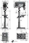 Kolomboormachine diameter 25mm