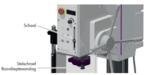 Kolomboormachine - vario diameter 32mm