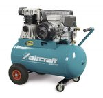 Riemaangedreven olie compressor 2 cil 10 bar - 200 liter