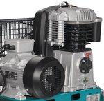 Riemaangedreven olie compressor 10 bar - 200 liter