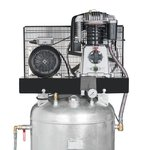 Zuigercompressor 15 bar - 270 liter -745x652x1.860mm