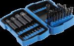 Bgs Technic Dopsleutelbit- en dopsleutelset | 6,3 mm (1/4) / 10 mm (3/8) | 42-dlg
