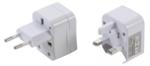 Bgs Technic Reisstekker/stopcontactadapter | 3-dlg