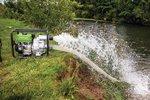 Waterpomp voor vuil water