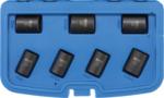 Bgs Technic Speciale dopsleutelset/schroefuitdraaier 17 - 26 mm 7-dlg