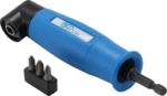 Bgs Technic Haakse schroefbitdraaier aandrijving buitenzeskant (1/4) / uitgaande binnenzeskant (1/4)