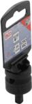 Bgs Technic Kracht dopsleuteladapter 12,5 mm (1/2) - buitenvierkant 6,3 mm (1/4)