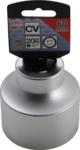 Bgs Technic Dopsleutel twaalfkant 20 mm (3/4) 60 mm