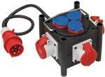 Compacte rubberen stroomverdeler BSV 3 LS E/16 2 IP44 1m H07RN-F 5G1,5