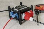 Compacte rubberen stroomverdeler BSV 3 FI/16 2 IP44 2m
