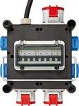 Compacte rubberen stroomverdeler BSV 3/32 2 IP44 2m H07RN-F 5G4,0