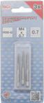 Bgs Technic Draadsnijtapset voor-, middel- en nasnijder M4 x 0,7 3-dlg