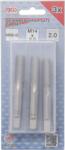 Bgs Technic Draadsnijtapset voor-, middel- en nasnijder M14 x 2,0 3-dlg