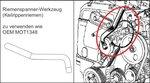Bgs Technic Motorafstelset voor Renault, Volvo, Ford 16V, 20V Benzin