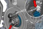 Bgs Technic Krukasvergrendelgereedschap voor VAG 1.4, 1.6, 2.0 TDI (EA288)