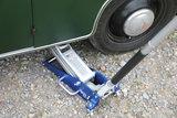 Hydraulische Vloer Jack, 1,5 tot. Aluminium-staal constructie_