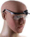 Veiligheidsbril, met ledlamp_