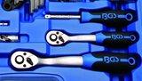Dopsleutelset zeskant 6,3 mm (1/4) / 10 mm (3/8) inches 92-delig_