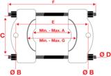 Kogellagertrekker, pers en trek functie 14 delig_