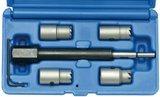 Injectoren zittingfreesset voor CDI-motoren 5-delig_