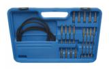 Bgs Technic Synchrone carburateur-tester met 4 synchrone klokken 26-delig_