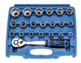 Bgs Technic Dopsleutelset 12,5 mm (1/2) 8 - 32 mm 27-delig_