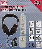 Bgs Technic Ultrasoon lekdetector gas, lucht en water_