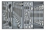 8-drawer trolley with 376pc tools_
