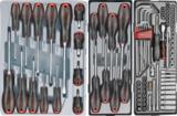 Practical gereedschapwagen 245-delig_