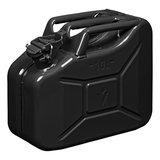 Jerrycan 10 Liter metaal zwart UN- & TuV/GS-gekeurd_