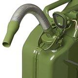 Schenktuit metaal flexibel geschikt voor benzine 20mm_