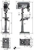 Kolomboormachine diameter 25mm_