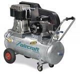 Riemaangedreven olie compressor verzinkte ketel 10 bar, 139kg - 200 liter_