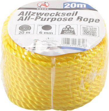 All-Purpose Touw 20 m x 6 mm